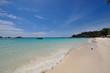 White sand beach, Lepe island, Thailand