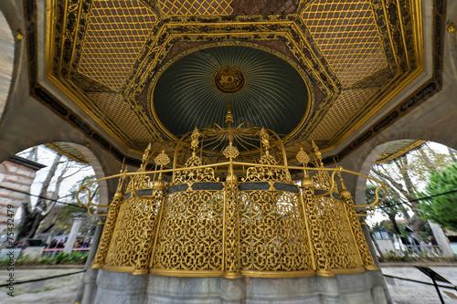 Fotografija  Ablution Fountain, Hagia Sophia - Istanbul, Turkey