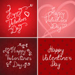 Valentines Day Background - Vector Illustration, Graphic Design, Editable For Your Design. Valentines Day