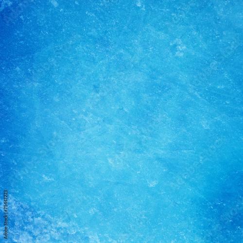 Textured ice blue frozen rink winter background - 75447223