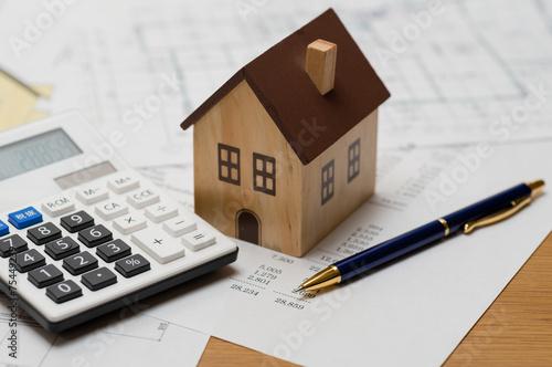 Fotomural  住宅建設の見積り