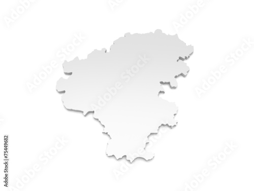 Zwickau Karte.3d Karte Landkreis Zwickau Buy This Stock Illustration And Explore