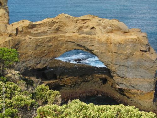 "Naklejka premium ""Wąwóz Loch Ard - Wąwóz"" - Great Ocean Road - Australia"