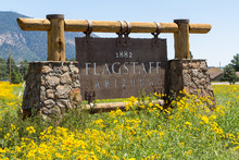 Entering Sign Flagstaff