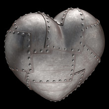 Strong Heart. Clipping Path Included.