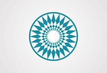 Circle Swirl Vector Logo