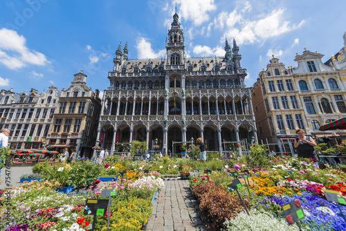 Foto op Canvas Brussel Maison du Roi in Brussels, Belgium