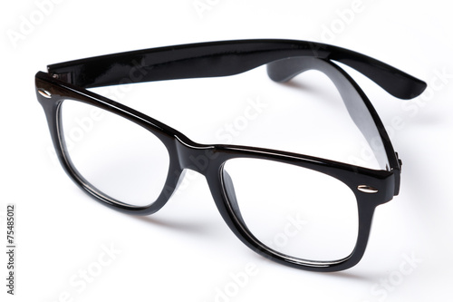 Eyeglasses with black rim Fototapeta