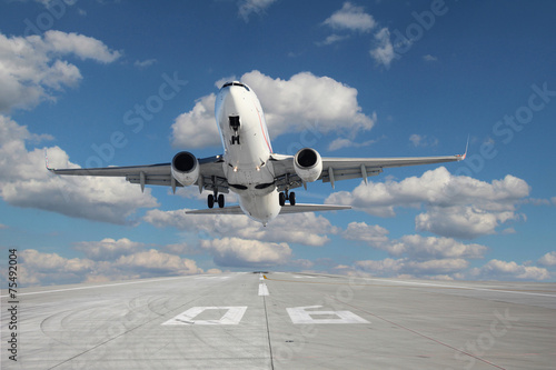 Aircraft taking off Tablou Canvas