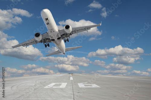 Takeoff aircraft Tablou Canvas