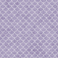 Purple And White Shell Tiles P...