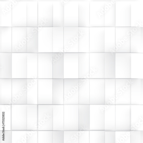 Obraz na płótnie w abstrakcyjny geometryczny kształt z szarych sześcianów