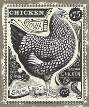 Vintage Poultry And Eggs Adver...