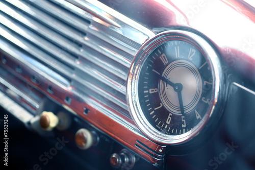 Cadres-photo bureau Vintage voitures Vintage car clock