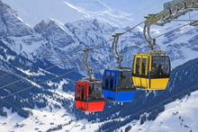 Seilbahn Adelboden Schweiz