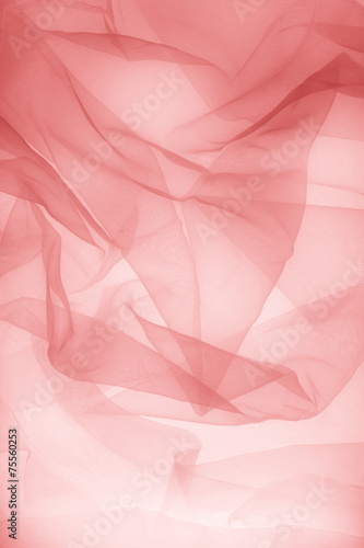 Fototapeta Abstract soft chiffon texture background