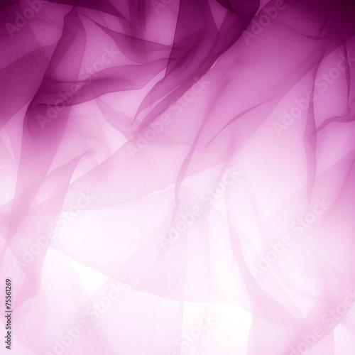 Fotografie, Obraz  Abstract soft chiffon texture background