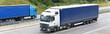 LKW´s auf Autobahn // Truck on highway