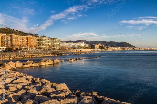 Fotografia lungomare di Salerno