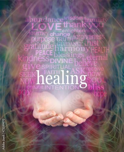 Photo  Receiving healing
