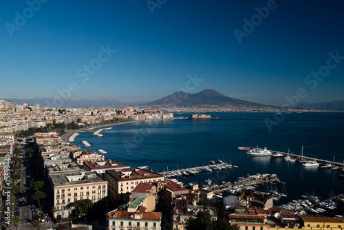 Garden Poster Napels Gulf of Naples