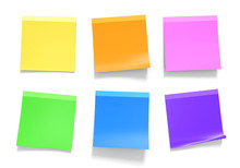 Office Sticky Notes In Yellow,...