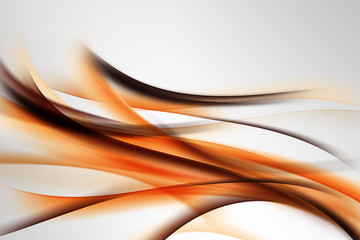 Fototapeta Dym abstrakcja na szarym tle