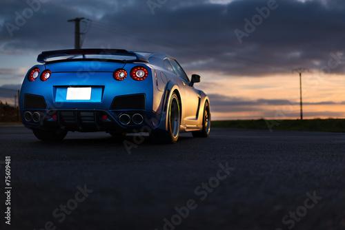 Nissan GTR Fototapet