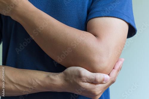 Fotografía  Elbow bone fracture