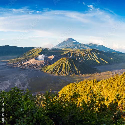 Foto op Plexiglas Indonesië Mount Bromo volcano in East Java, Indonesia