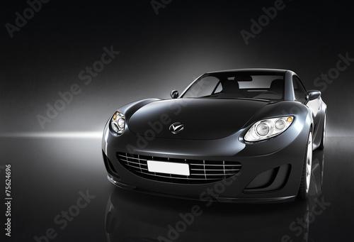 Poster Voitures rapides Comtemporary Car Elegance Vehicle Transportation Luxury Concept