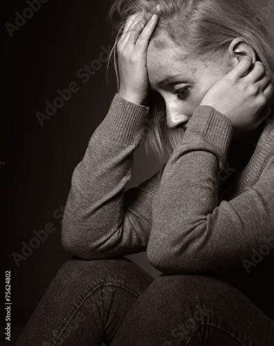 Sad woman. © itsmejust