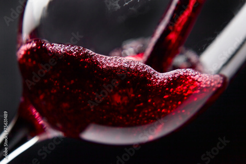 Photo  Red wine