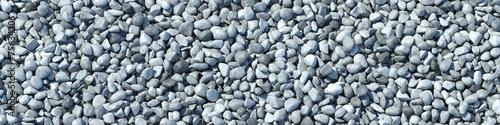 Fotografía  Hintergrund aus vielen Steinen im Panorama