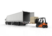 Forklift And Truck