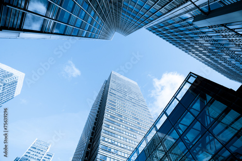 Skyscraper Business Office building, London, England, UK Canvas Print