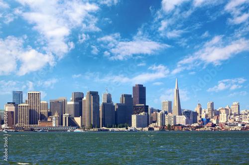 Fotomural Horizonte de San Francisco, California, EE.UU.