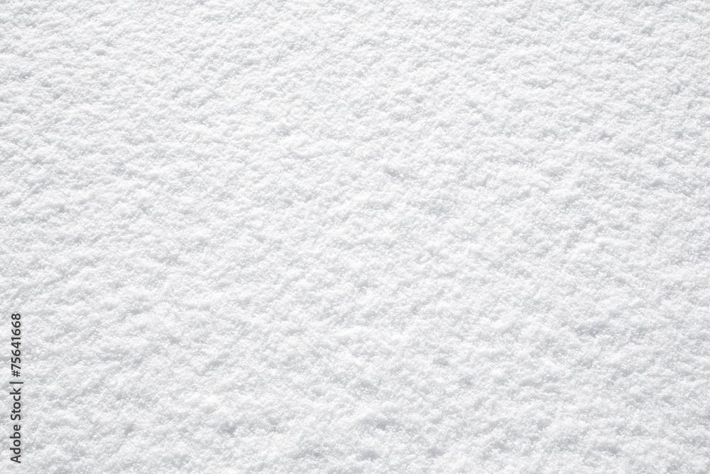 Fototapeta perfect fresh white snow background structure