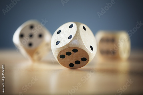 Fotografia Rolling the dice