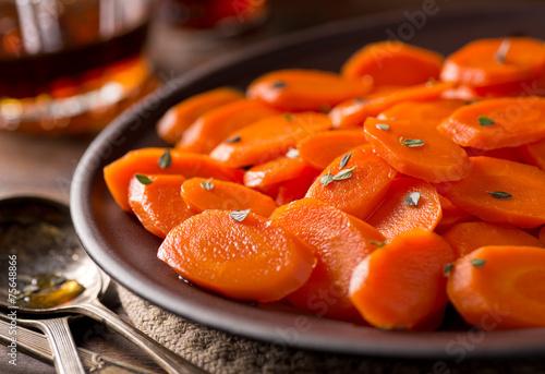 Photo  Glazed Carrots