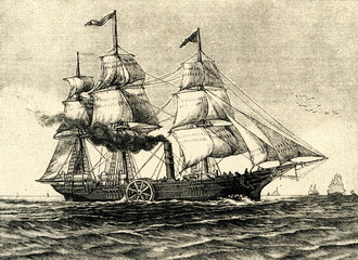 Savannah - first steamship ...