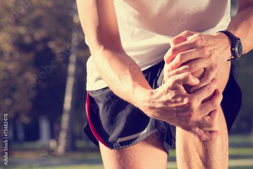 Jogging injury.