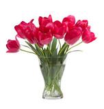Bukiet tulipanów w wazie