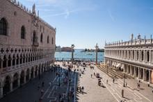 Dettagli Di Piazza San Marco, ...