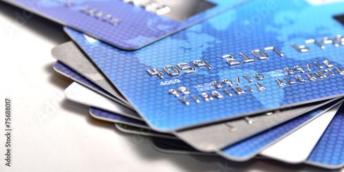 Fotografía  Tarjetas de crédito