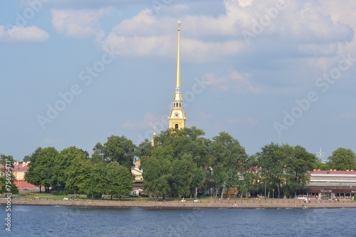 Wall Murals Central Europe The Peter and Paul Fortress, St. Petersburg.