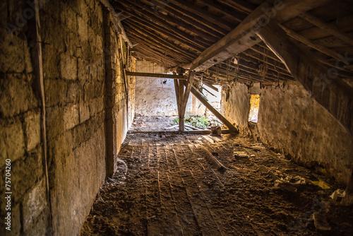 Fotografie, Obraz  Casa ruina