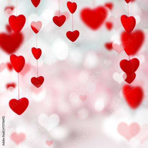 Fotografie, Obraz  Valentine's Day background