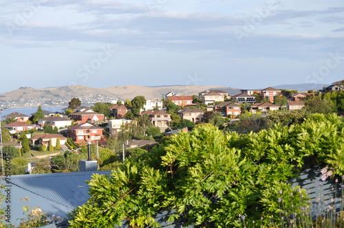 Foto op Aluminium Tunesië Australian family houses on the hills