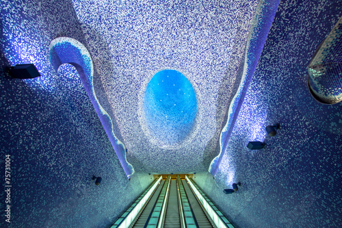 Toledo subway station, Naples